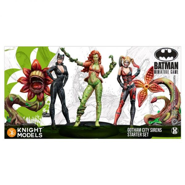 Batman Miniatures Game 2nd Ed Gotham City Sirens Starter Set
