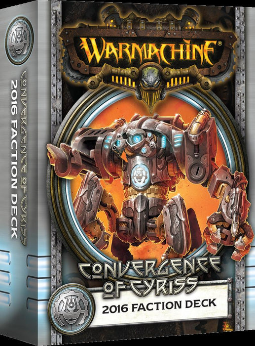 Warmachine Convergence Of Cyriss 2016 Faction Deck