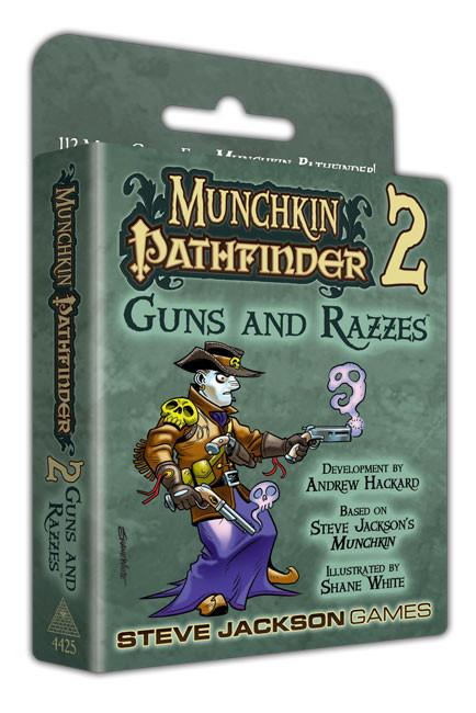 Munchkin Pathfinder 2 Guns and Razzes