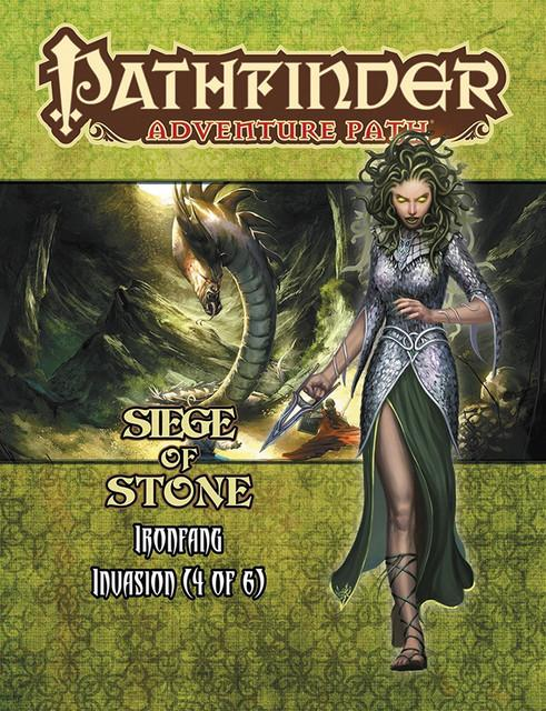 Pathfinder RPG: Adventure Path - Ironfang Invasion Part 4 - Siege of Stone