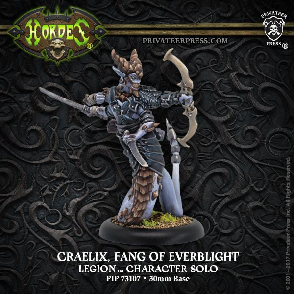 Hordes: Legion of Everblight Craelix, Fang of Everblight Solo
