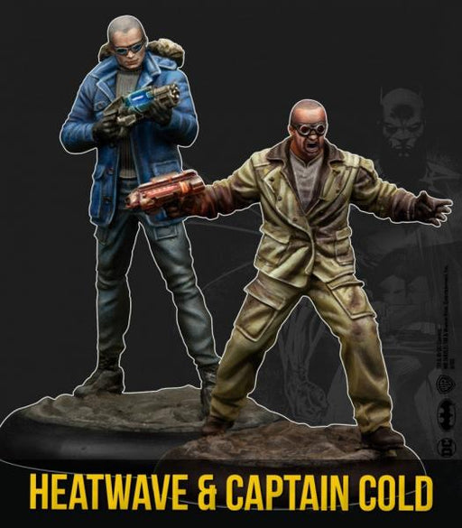 Batman Miniature Game: Captain Cold & Heatwave (Resin)