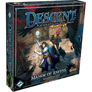 Descent Journeys in the Dark Second Edition Manor of Ravens