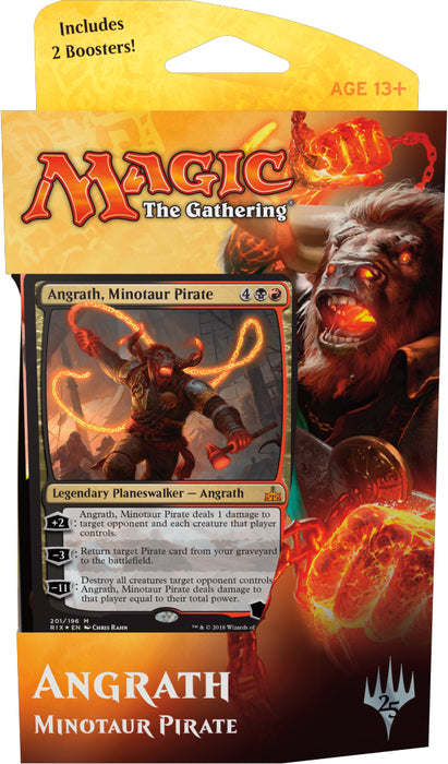 "Magic the Gathering: ""Rivals of Ixalan"" Planeswalker Deck Angrath"