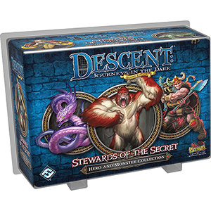 Descent Journeys in the Dark Second Edition Stewards of the Secret Hero and Monster Collection