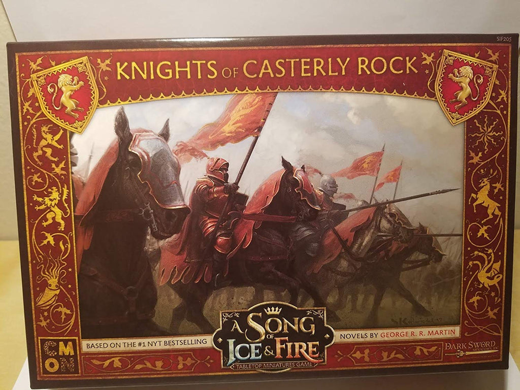 A Song of Ice & Fire: Tabletop Miniatures Game: Lannister Knights of Casterly Rock Unit Box