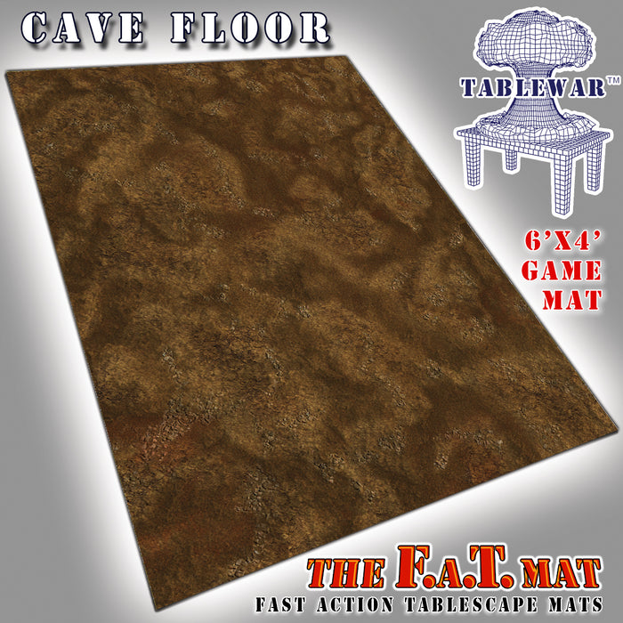 Tablewar 6x4 'Cave Floor' F.A.T. Mat Gaming Mat