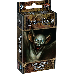 Lord of the Rings LCG: Foundations of Stone Adventure Pack