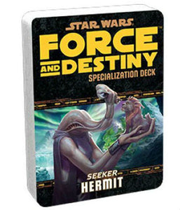 Star Wars RPG: Force and Destiny - Hermit Specialization Deck