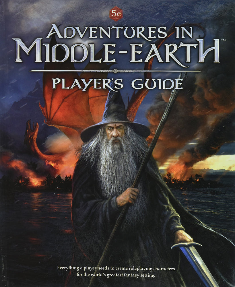 Dungeons and Dragons RPG: Adventures in Middle-Earth - Player`s Guide Hardcover