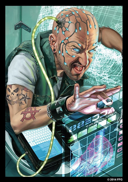Android Netrunner: Inside Job Art Sleeves