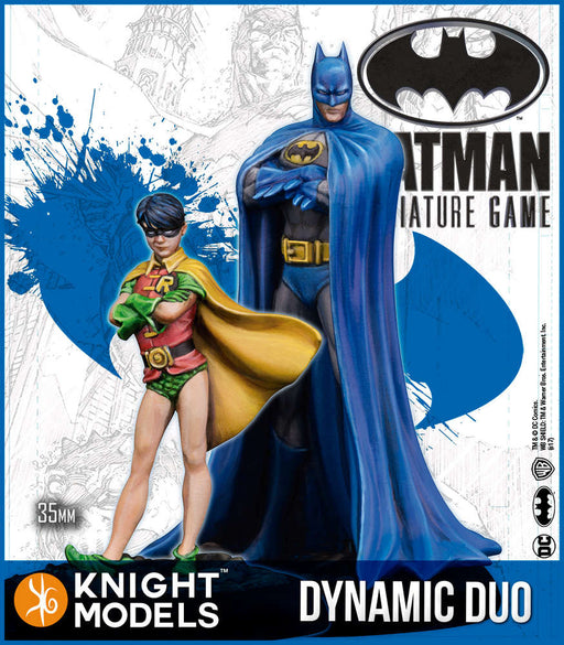 Knight Models Batman Miniature Game Dynamic Duo - Batman And Robin