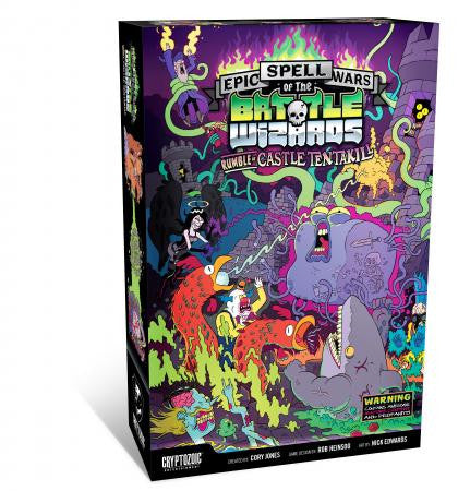 Cryptozoic Epic Spell Wars of the Battle Wizards 2 Rumble at Castle Tentakill