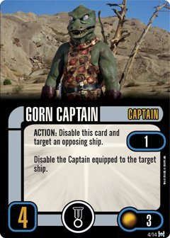 Star Trek Attack Wing: Card Pack Wave 3 Gorn Raider