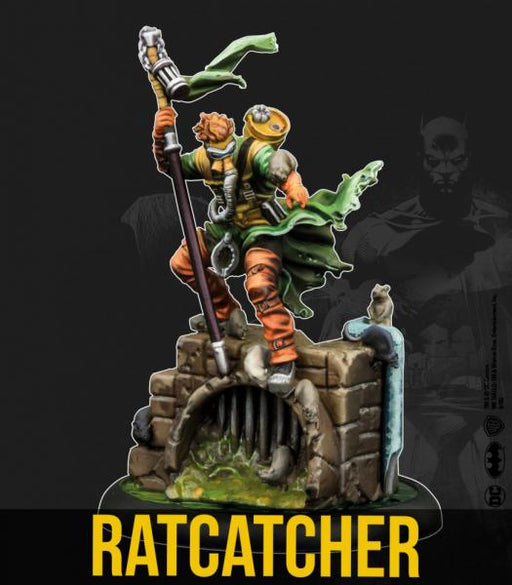 Batman Miniature Game: Ratcatcher w/ Sewer Swarm (Resin)