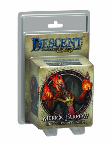 Descent Journeys in the Dark 2nd Edition: Merick Farrow Lieutenant Pack