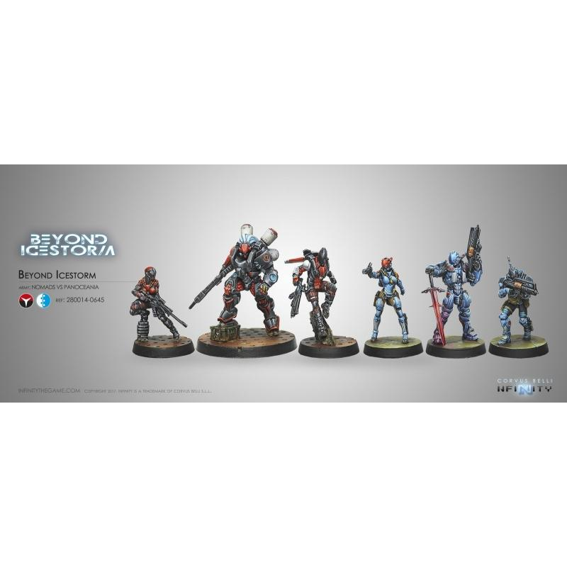 Corvus Belli Infinity Beyond Icestorm Expansion Pack