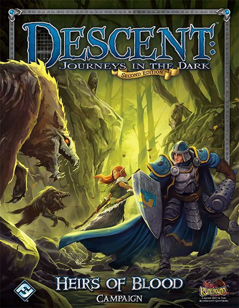 Descent Journeys in the Dark Second Edition Heirs of Blood Campaign
