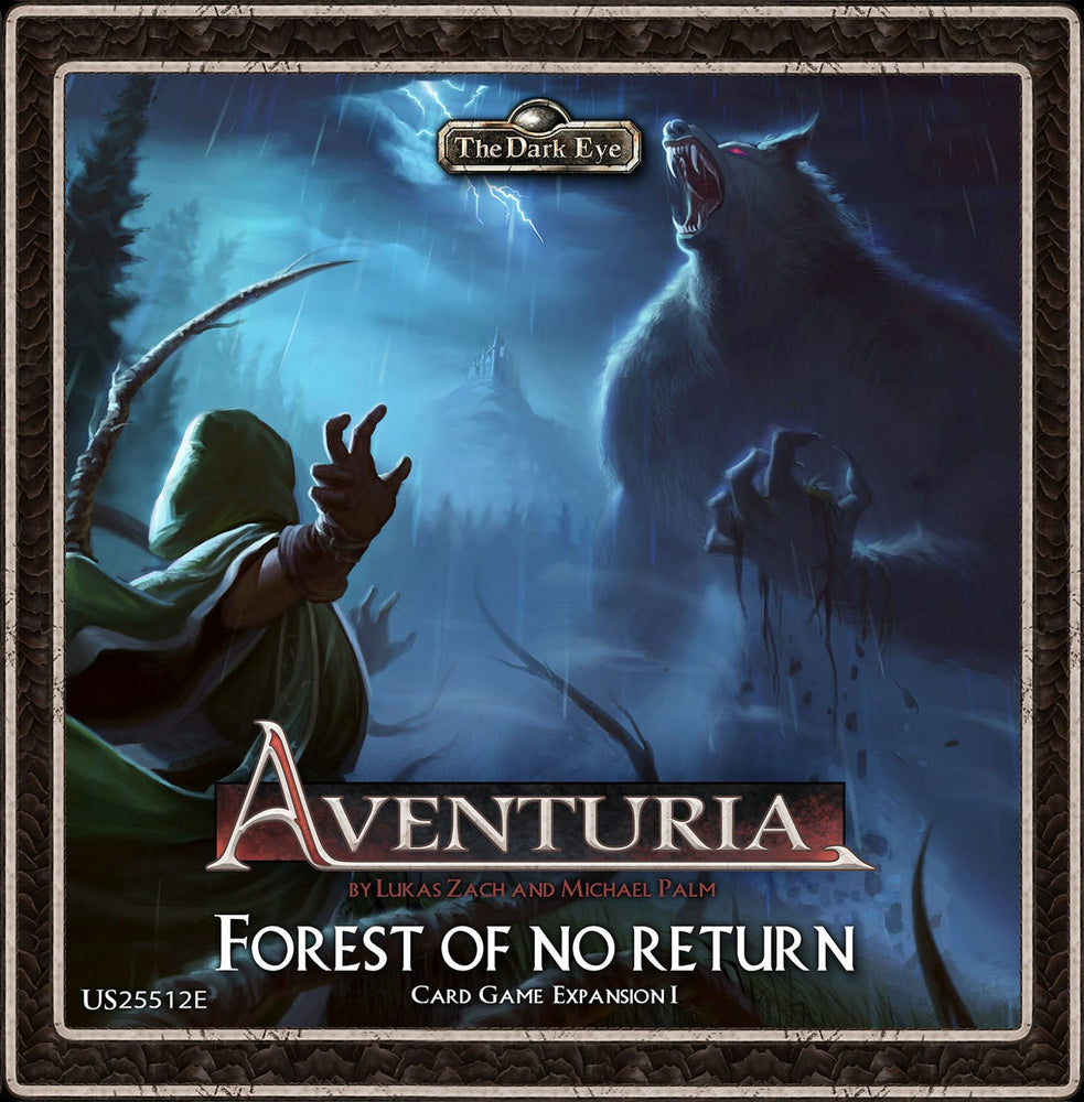 The Dark Eye: Aventuria Adventure Card Game - Forest of No Return Expansion