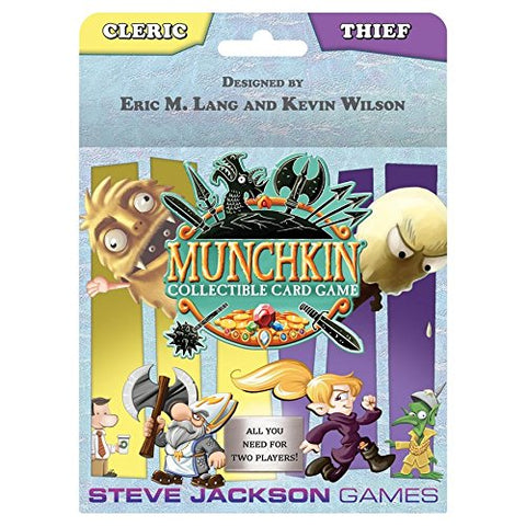 Munchkin Collectible Card Game: Cleric/Thief Starter
