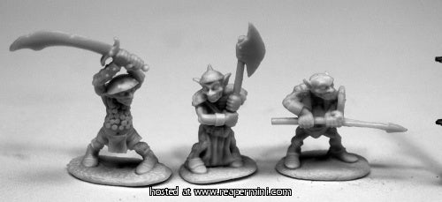 Dark Heaven: Bones Goblin Warriors