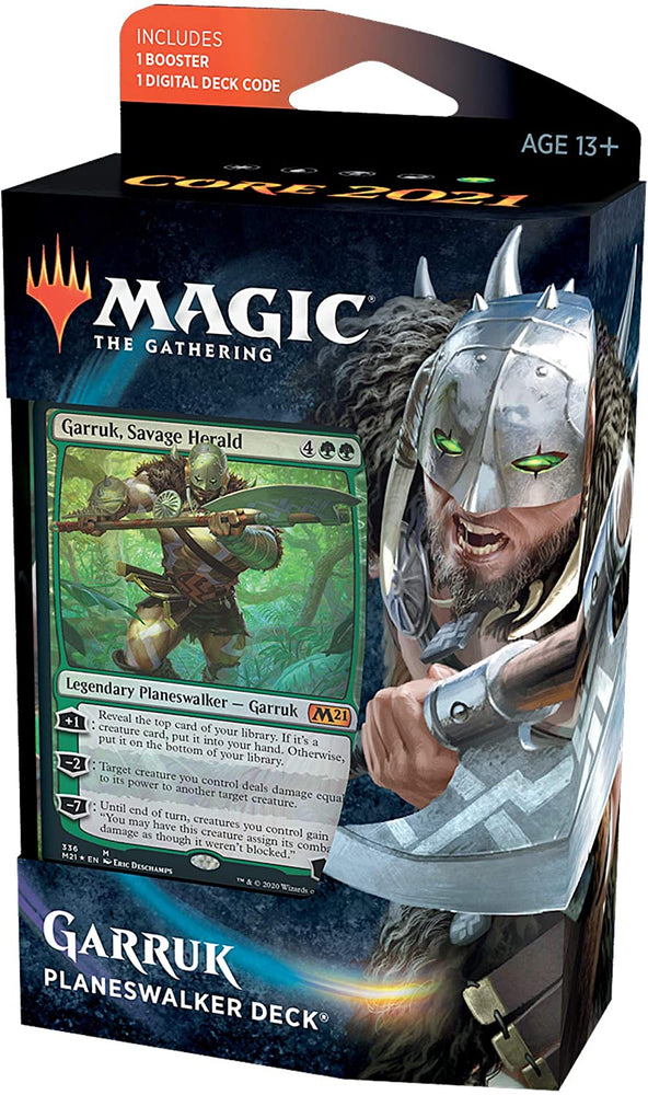Magic the Gathering CCG: Core 2021 Planeswalker Deck Garruk