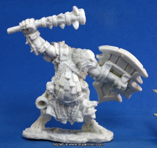Dark Heaven: Bones Kagunk Ogre Chieftain