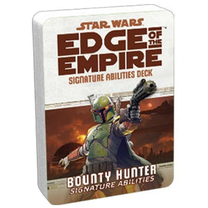 Star Wars RPG: Edge of the Empire - Bounty Hunter Signature Abilities Deck