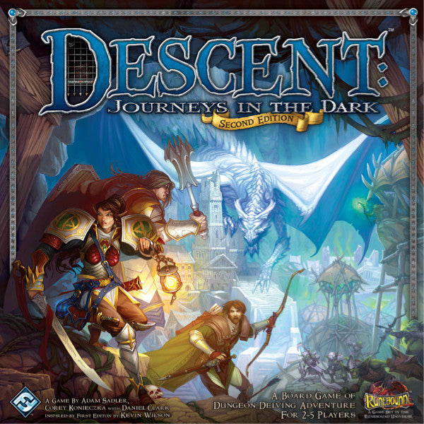 Descent Journeys In The Dark Second Edition Core Game