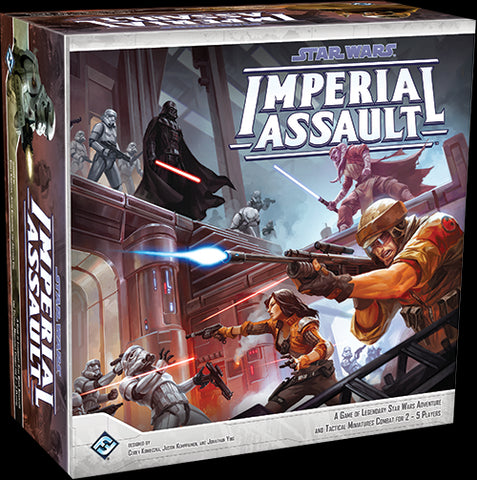 Star Wars Imperial Assault A Game of Legendary Star Wars Adventure (Core Set)