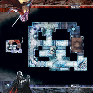 Star Wars Imperial Assault Skirmish Map Nelvaanian War Zone Playmat