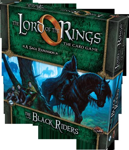 The Lord of the Rings LCG The Black Riders Saga Expansion