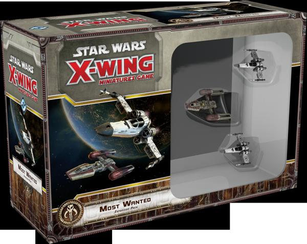 Star Wars X-Wing Miniatures Game Most Wanted Expansion Pack