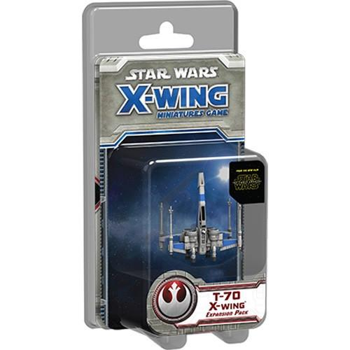 Star Wars X-Wing Miniatures Game The Force Awakens T-70 X-Wing Expansion Pack