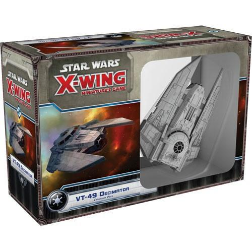 Star Wars X-Wing Miniatures Game VT-49 Decimator Expansion Pack