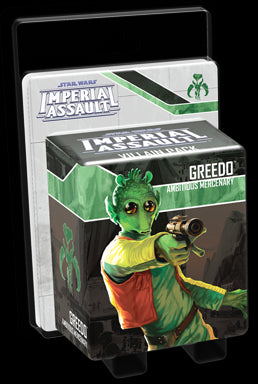 Star Wars Imperial Assault Villain Pack Greedo Ambitious Mercenary