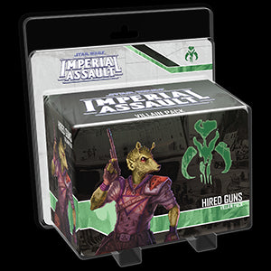 Star Wars Imperial Assault Villain Pack Hired Guns