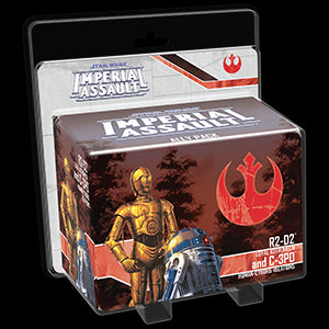 Star Wars Imperial Assault Ally Pack R2-D2 and C-3PO