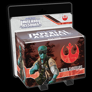 Star Wars Imperial Assault Ally Pack Rebel Saboteurs