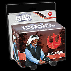 Star Wars Imperial Assault Ally Pack Rebel Troopers