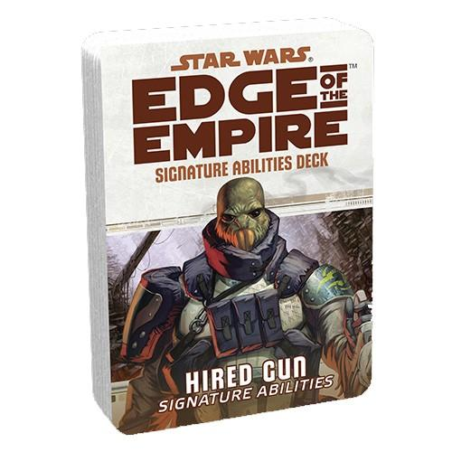 Star Wars Edge of the Empire Hired Gun Signature Abilities Deck