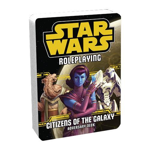 Star Wars RPG Citizens of the Galaxy Adversary Deck
