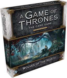 A Game of Thrones LCG Second Edition Wolves Of The North Expansion Game
