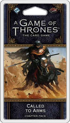 A Game of Thrones LCG Second Edition Called To Arms Chapter Pack
