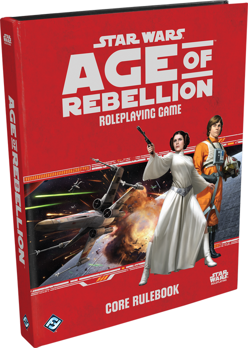 Star Wars RPG Age of Rebellion Roleplaying Game Core Rulebook