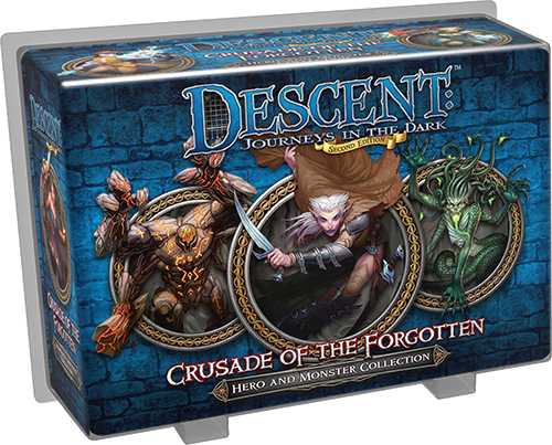 Descent Journeys In The Dark Second Edition Crusade Of The Forgotten Hero And Monster Collection