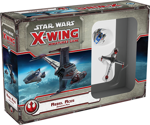 Star Wars X-Wing Miniatures Game Rebel Aces Expansion Pack