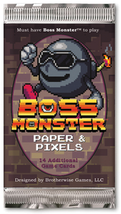 Boss Monster Paper & Pixels Expansion Pack