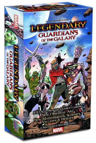 Legendary Marvel DBG Guardians of the Galaxy Expansion