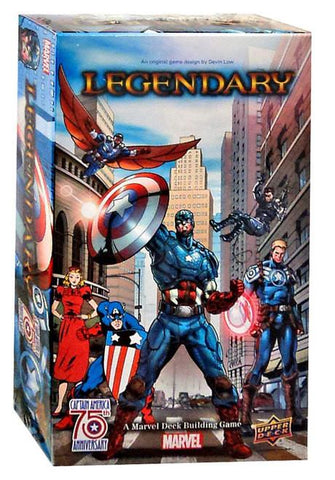 Legendary Marvel DBG Captain America 75th Anniversary Expansion